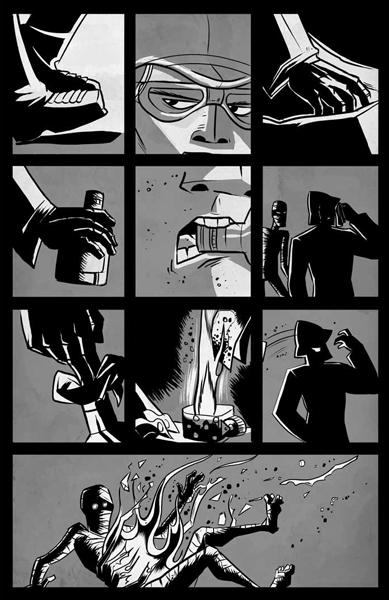 Pg 2 of Fear by Chris Murphy & Nelson Diaz