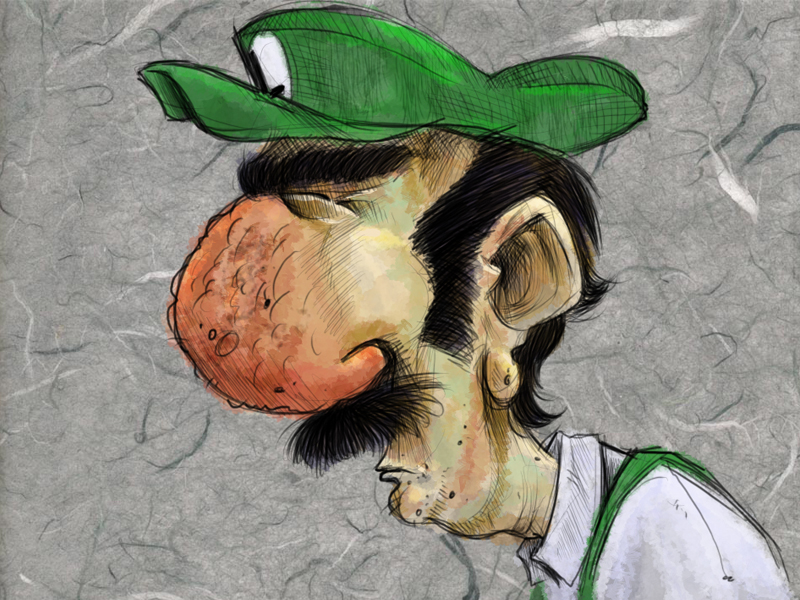 Grimey-Luigi