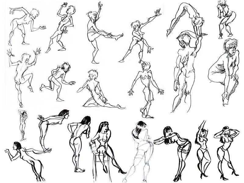 various-posing-2