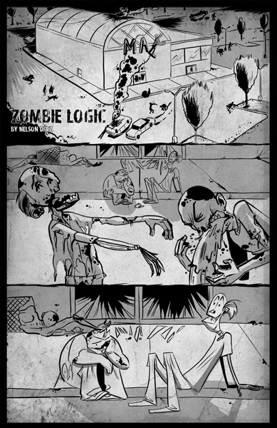 Pg 1 of Zombie Logic