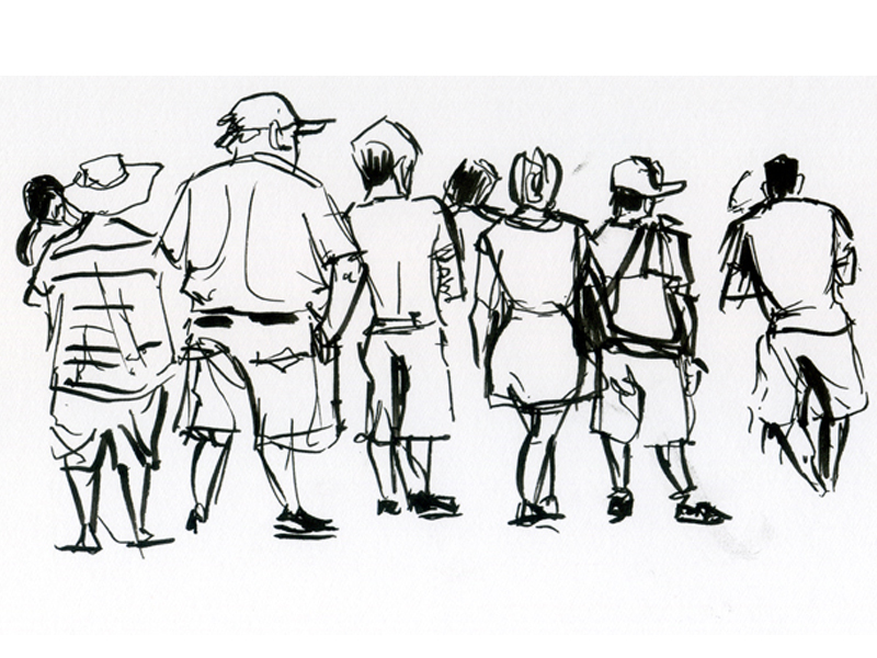 zoo-crowd